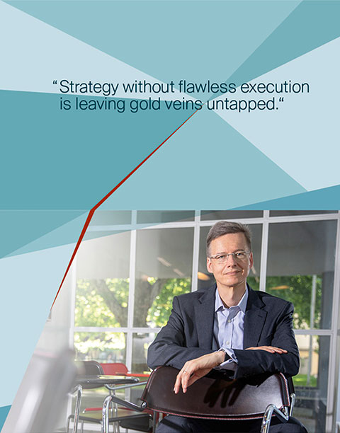 Dr. Ulrich Riedel, Consultant - Strategy without flawless execution is leaving gold veins untapped.